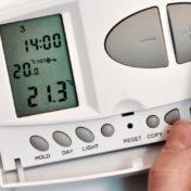 reglage thermostat