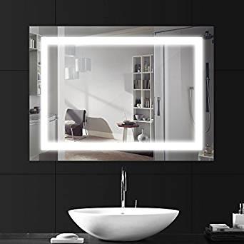 Pose miroir salle de bains