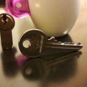 clés et serrure