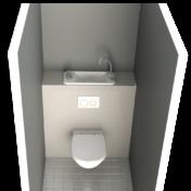 Choisir un WC suspendu avec lave-mains