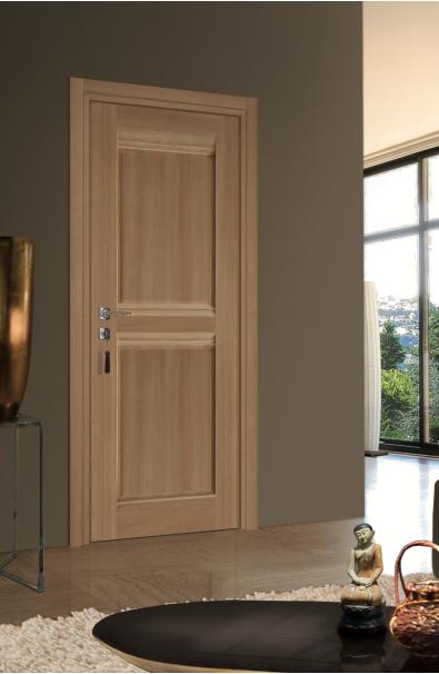 La porte en bois