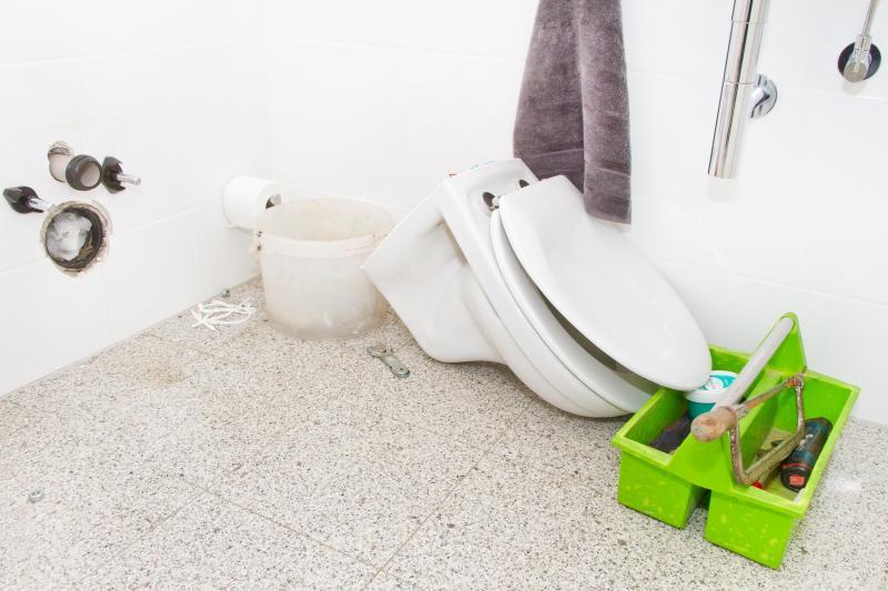 Remplacement WC paris 19